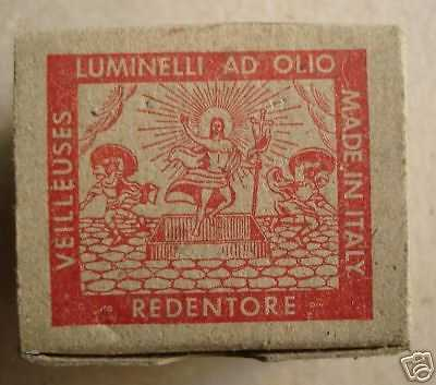 Luminelli Redentore, Rara Scatola Originale, d'Epoca thumb